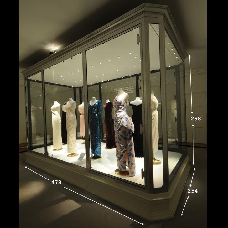 Large vitrine ex. Kensington Palace