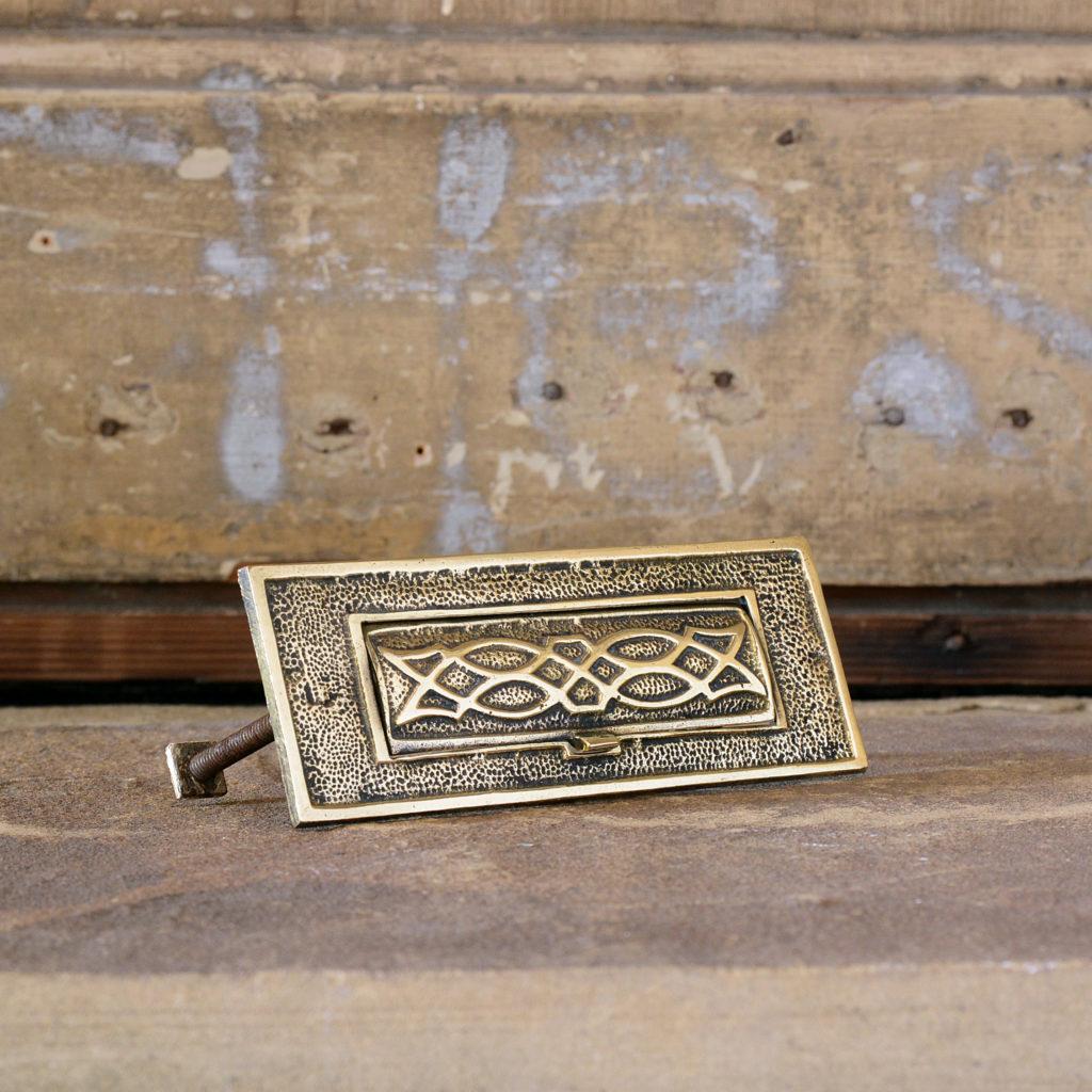 Brass letterplate,-95211