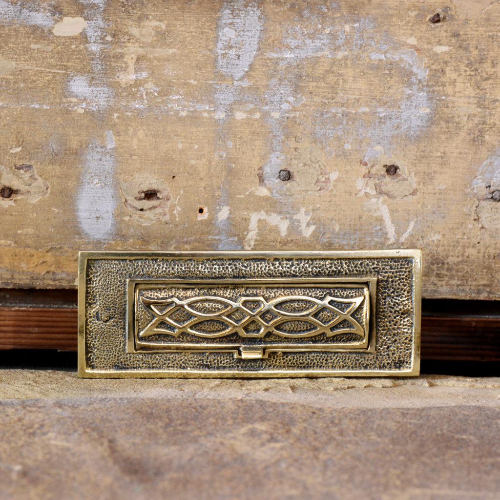 Brass letterplate,-95209