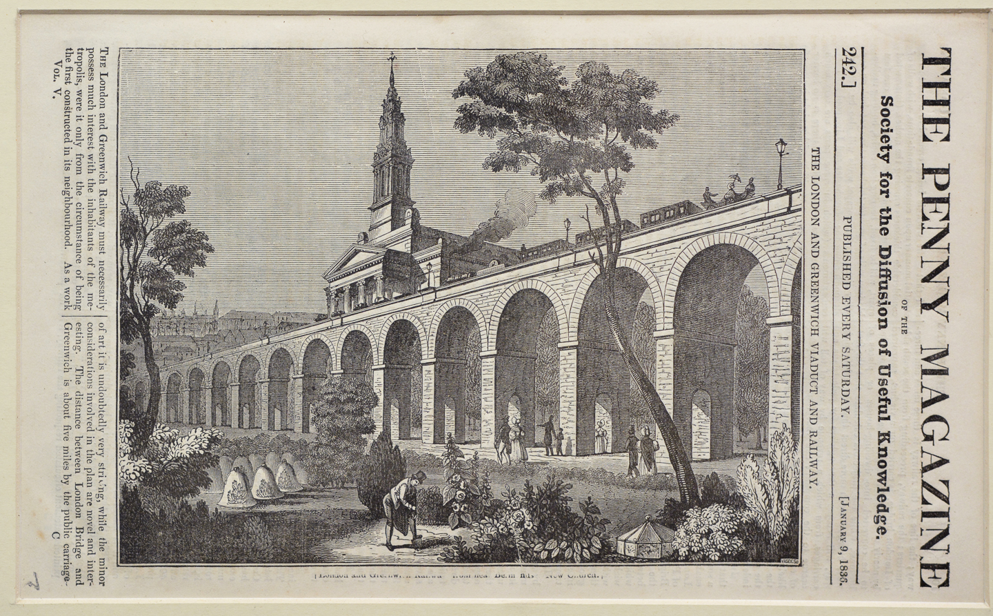 The London and Greenwich Viaduct and Railway-134324