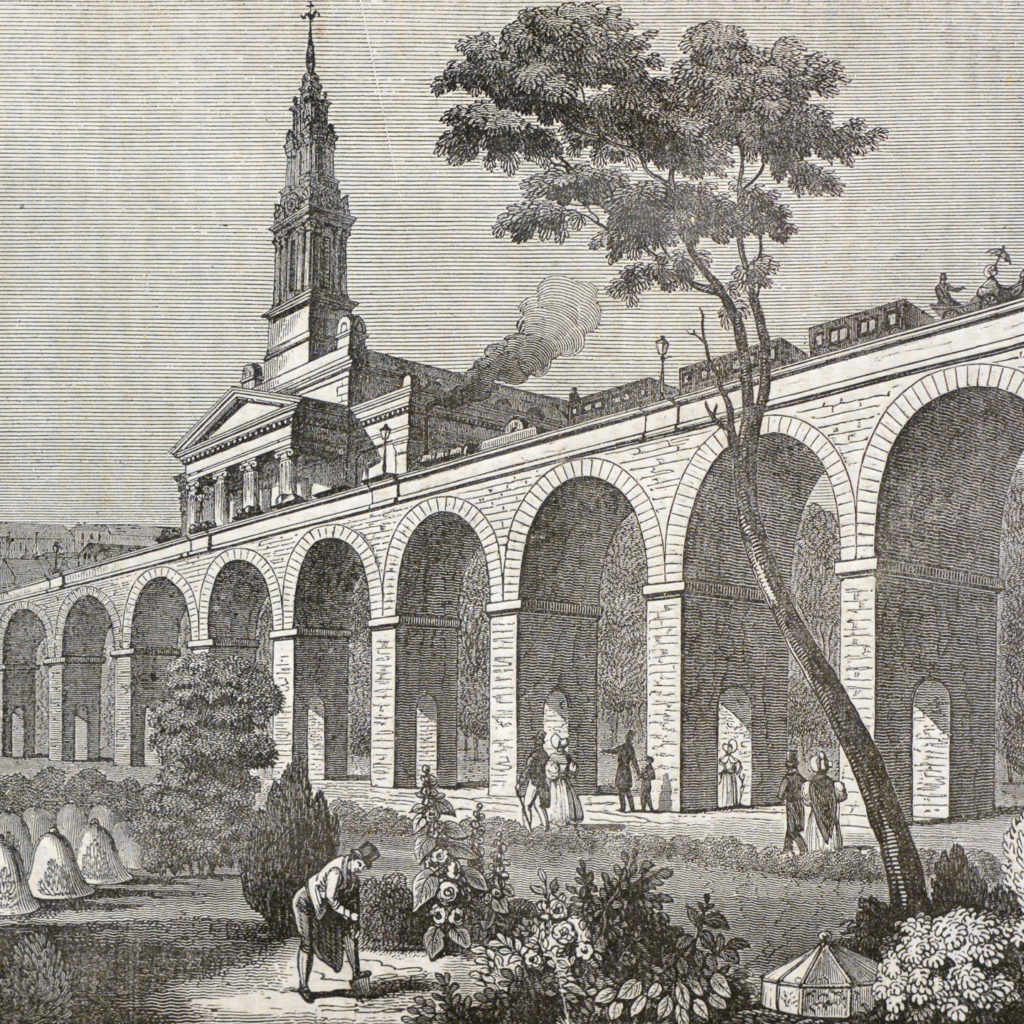 The London and Greenwich Viaduct and Railway-134328