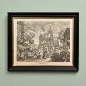 Southwark Fair, copper-engraved print after William Hogarth-0