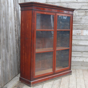 Glazed bookcase