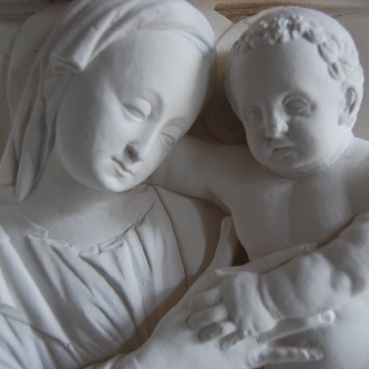 Virgin and Child by Amadeo