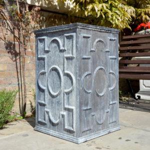 An English lead cistern