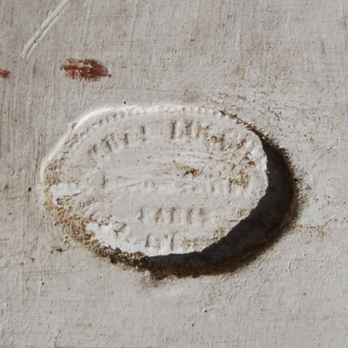 Lucchesi plaster relief