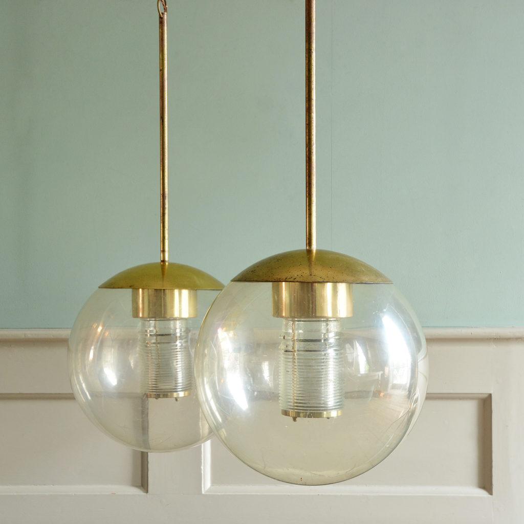 Perspex pendant lights