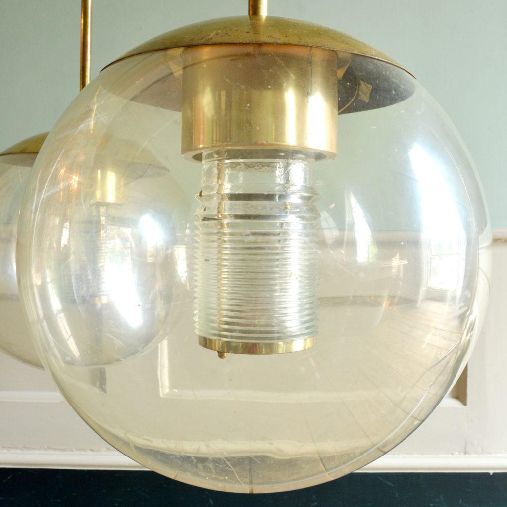 Pendant perspex globe lights,-88831