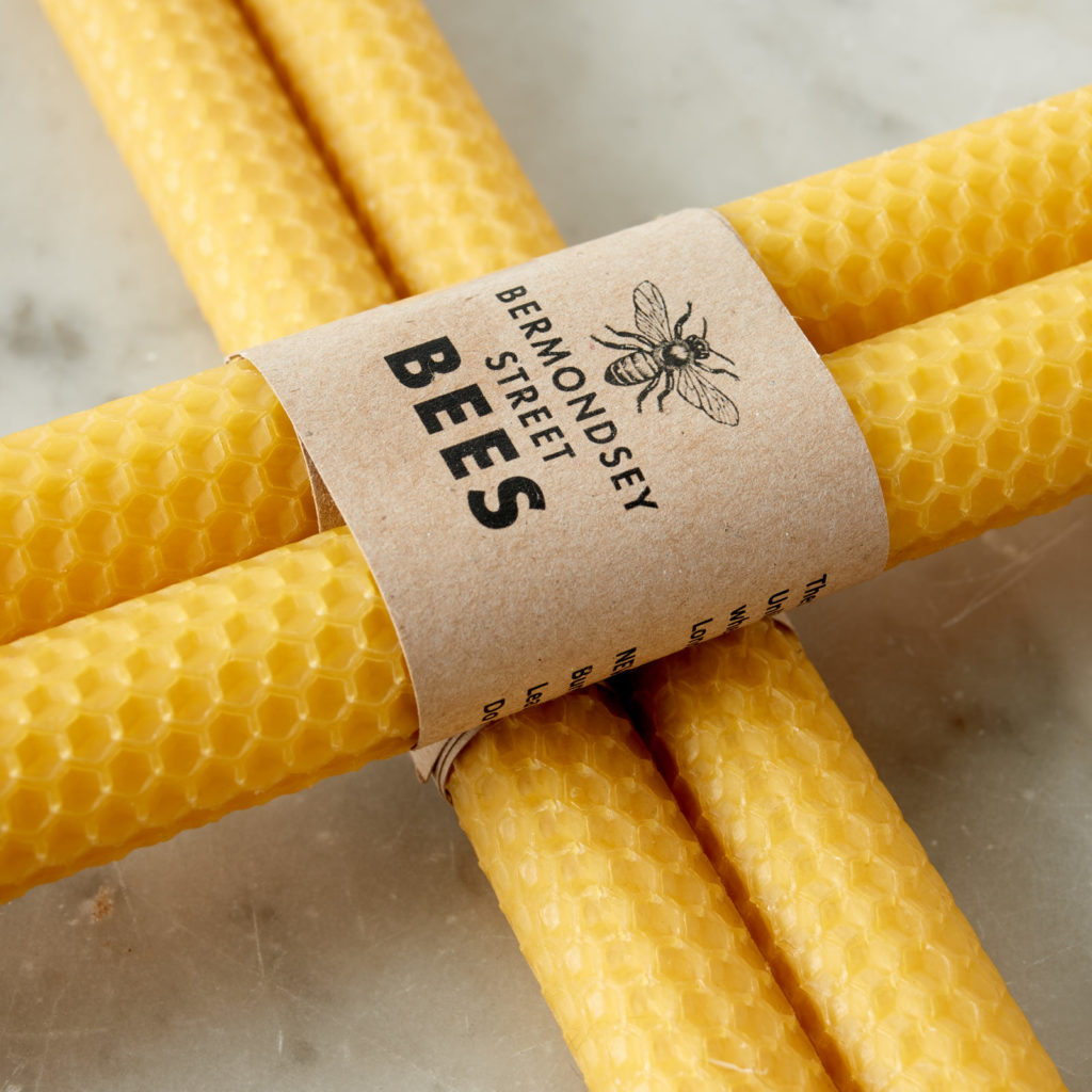 Beeswax rolled candle sticks,-104446