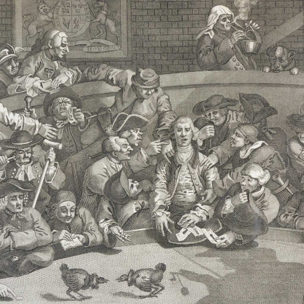 Hogarth Cock Fighting