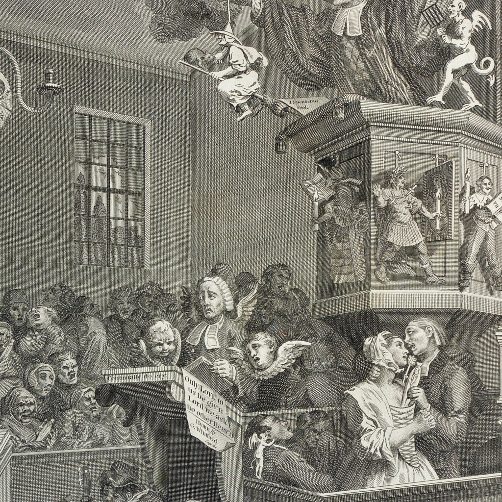 Credulity, Superstition and Fanaticism. A Medley. after William Hogarth
