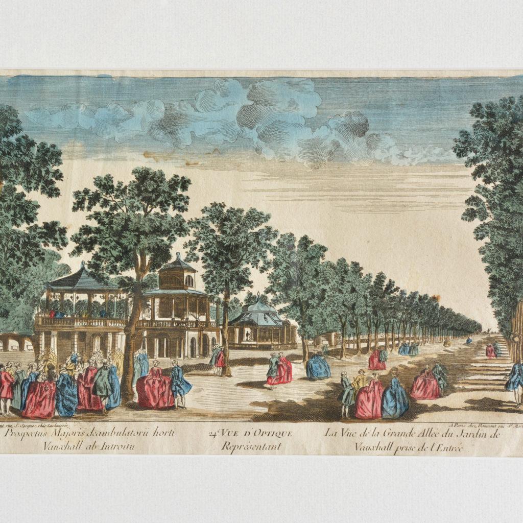 An original Vue d'Optique print,-89756
