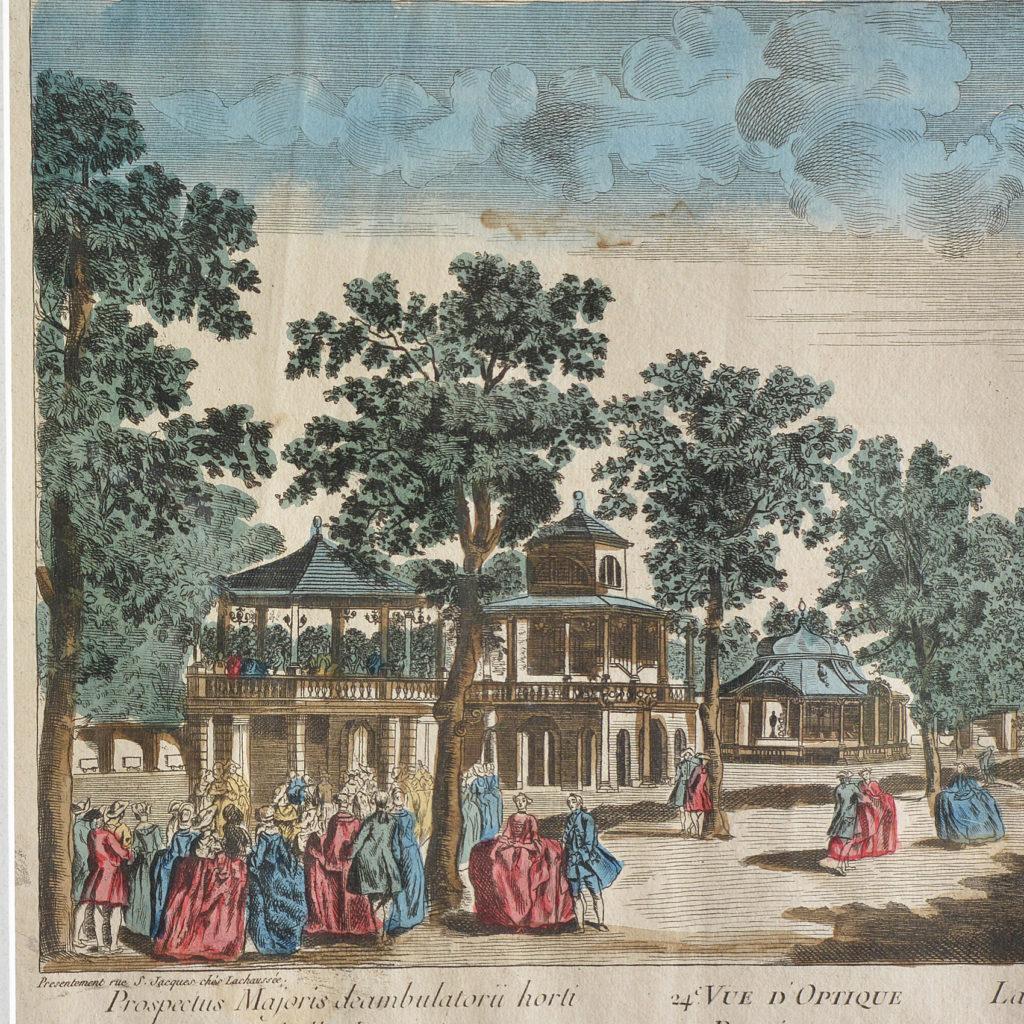 An original Vue d'Optique print,-89759