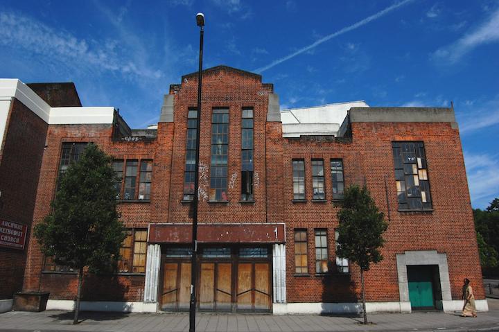 Archway Central Methodist Hall Facade