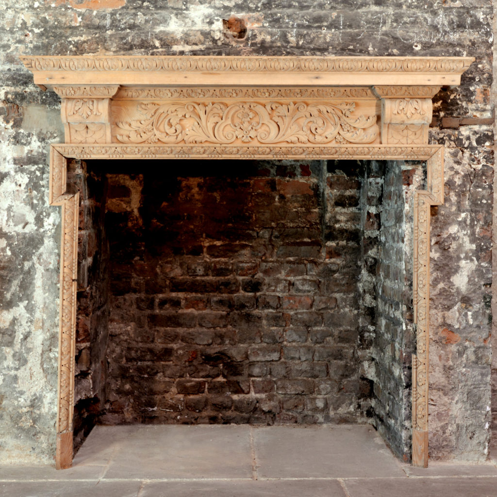 George III style fire surround