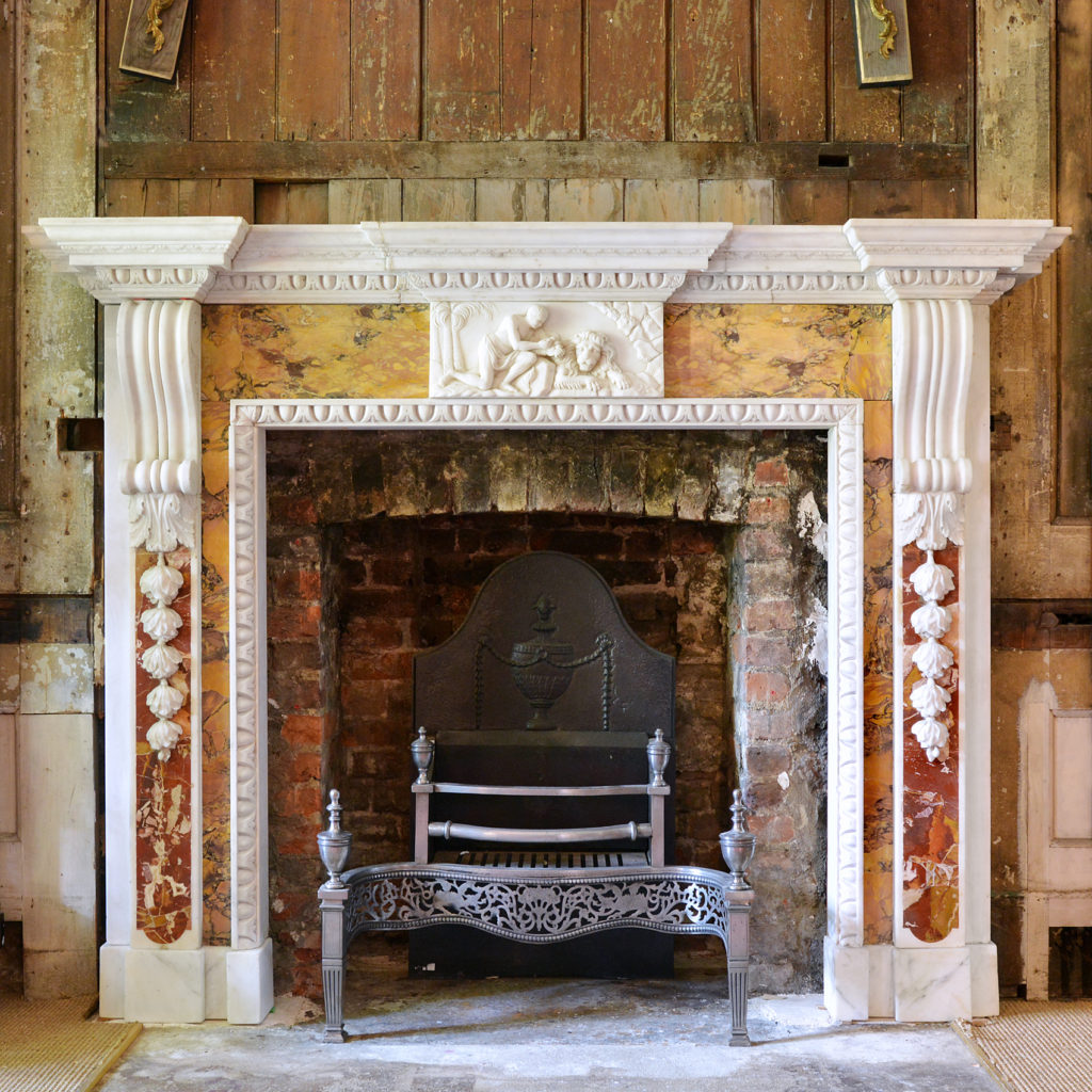 George II style chimneypiece