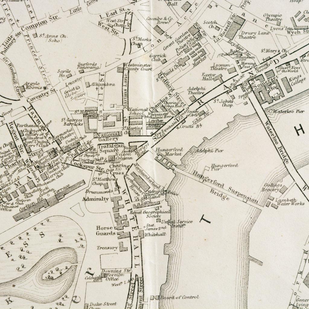 The Landmarks of London Map,-90583