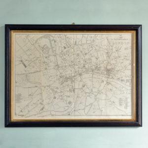 Landmarks of London Map