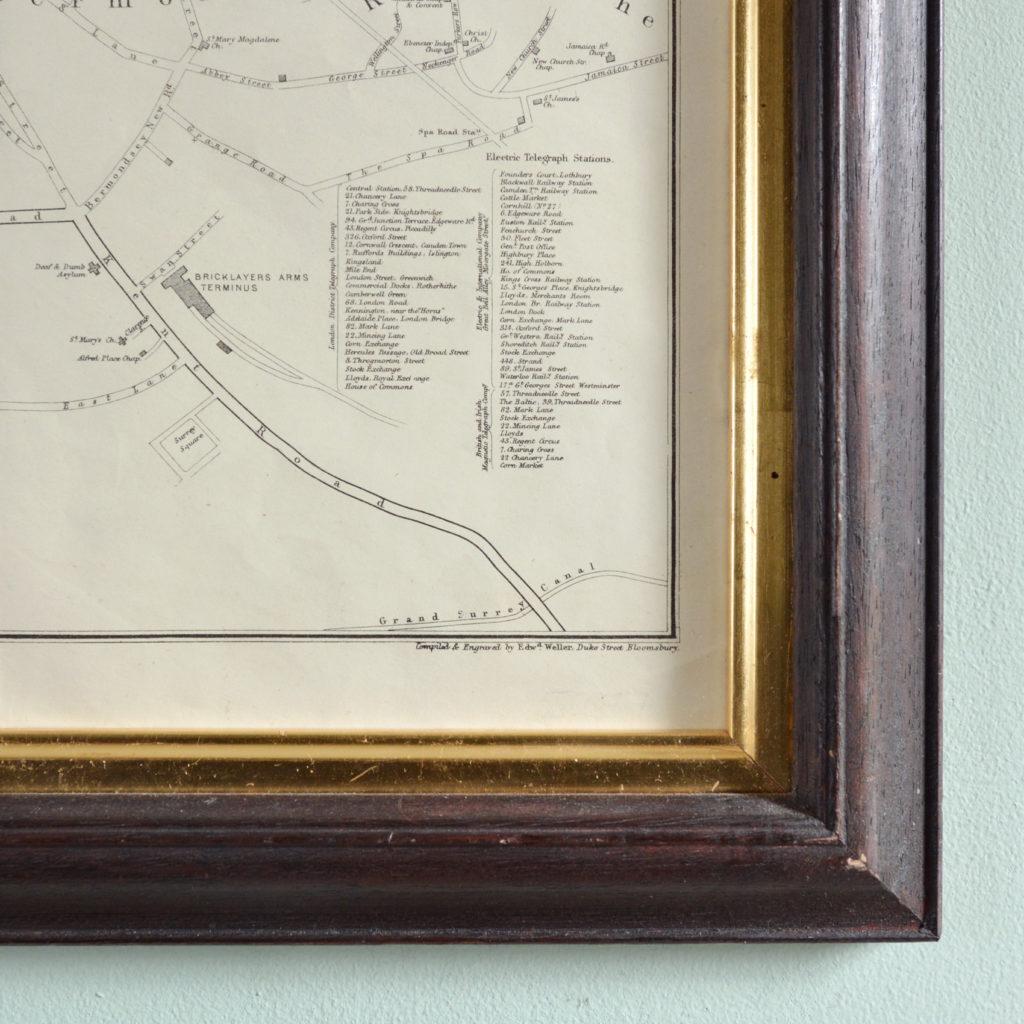 The Landmarks of London Map,-90584