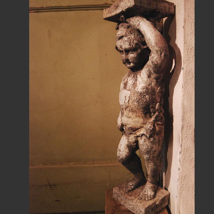Antique garden statue