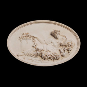 Oval Coade Plaque