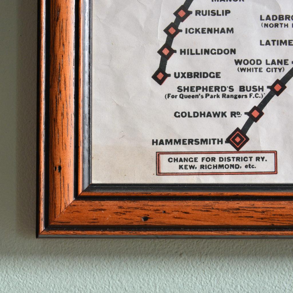 Metropolitan Line, carriage map,-93465