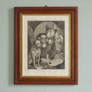 The Bruiser, after William Hogarth