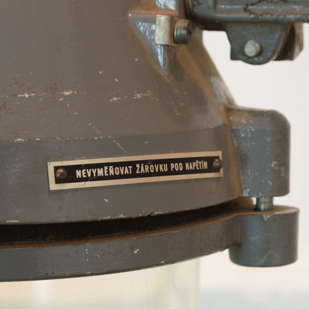 Grey top industrial pendant lights,-94862