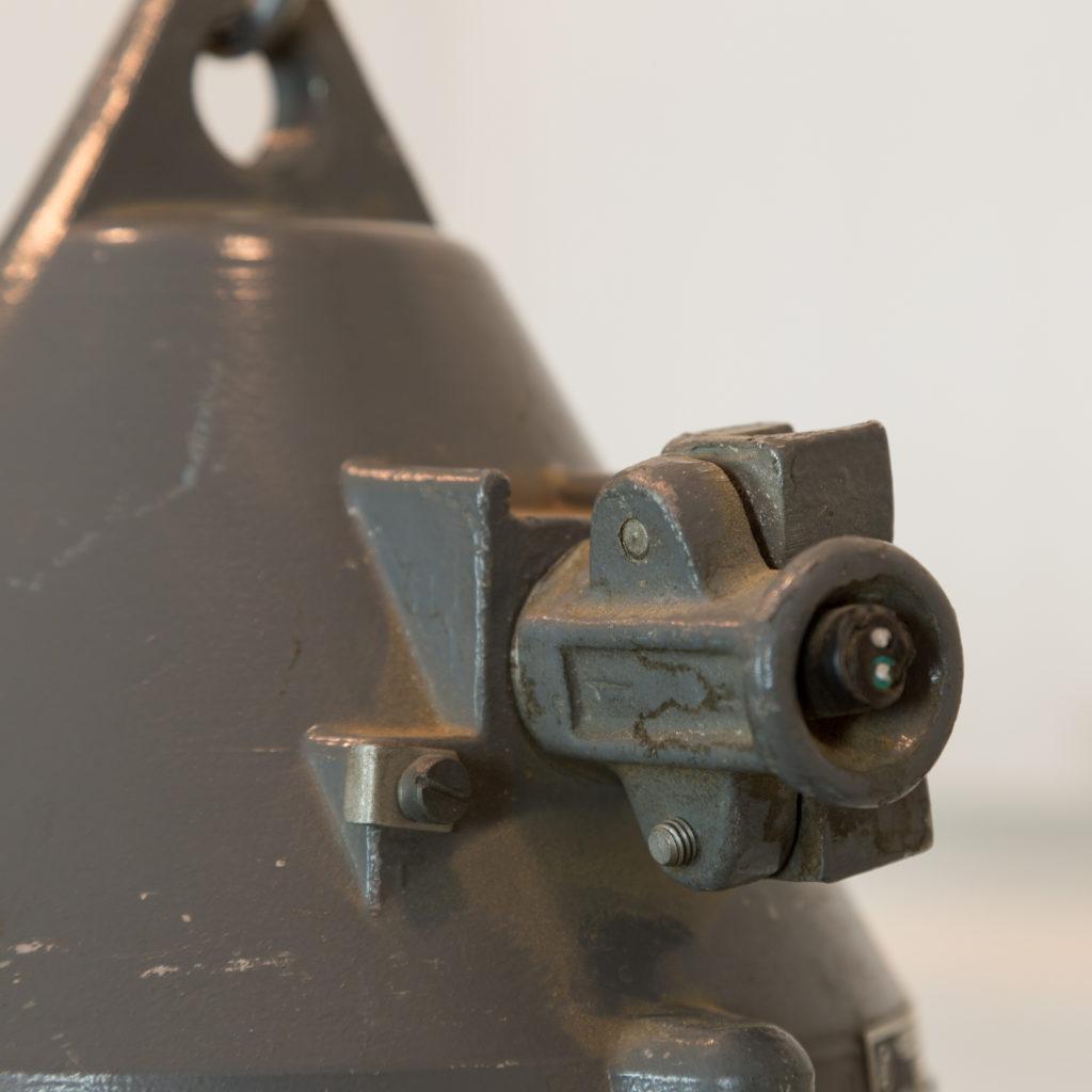 Grey top industrial pendant lights,-94857