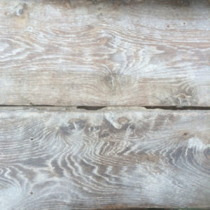Antique oak floorboards