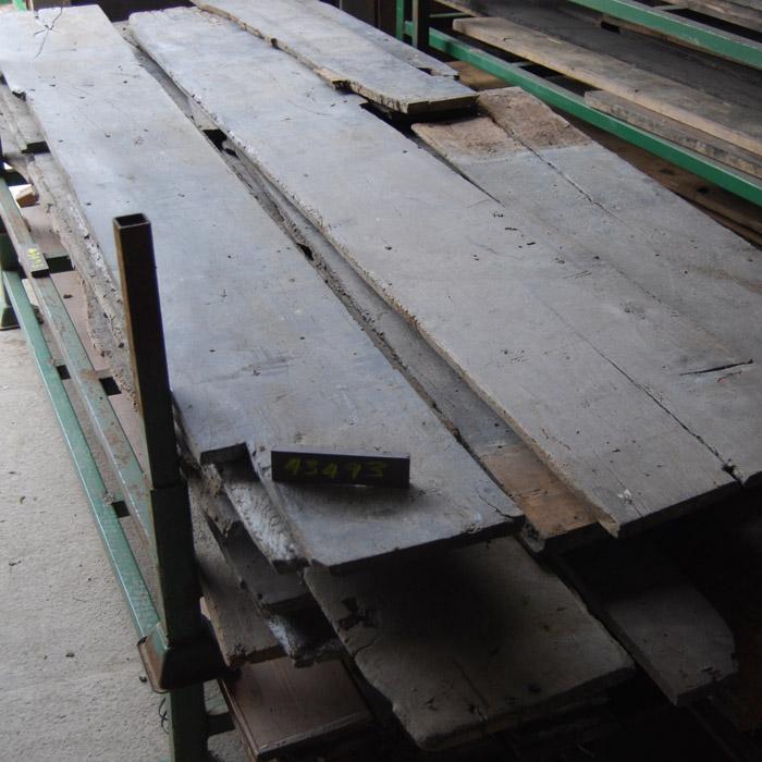 Antique oak floor-boards