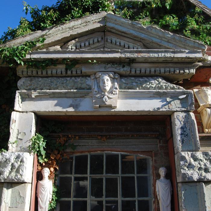 Stone doorcase