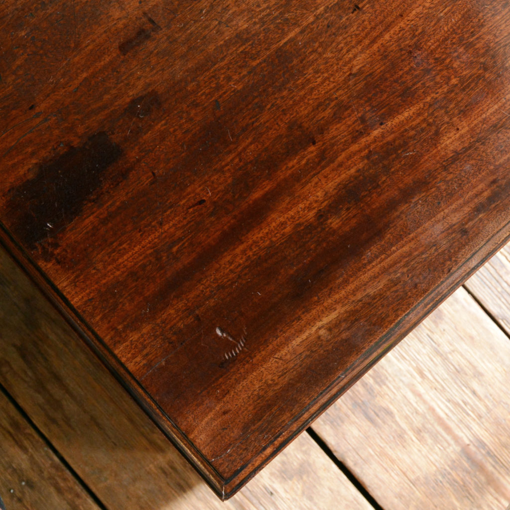 A George II mahogany kneehole desk,-96006