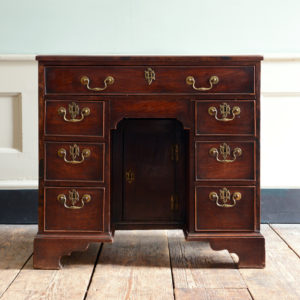 George II kneehole desk