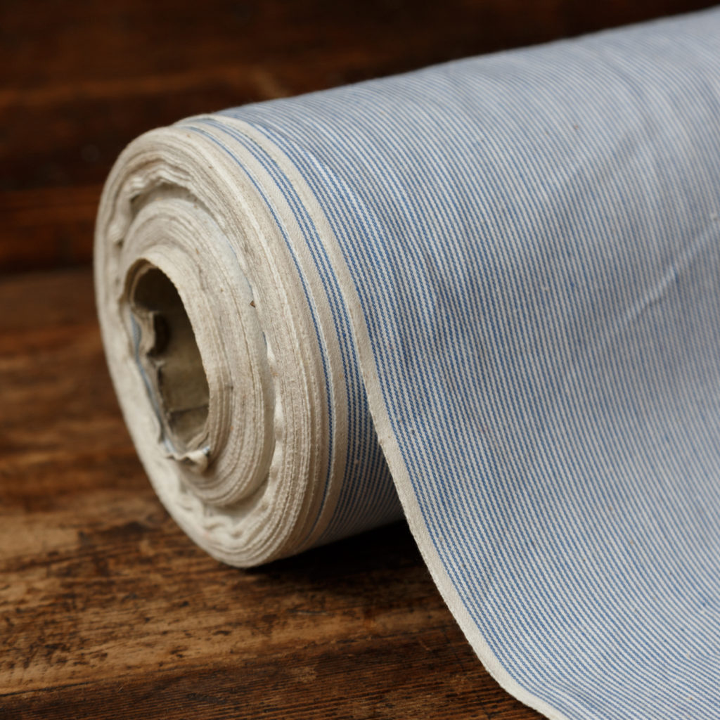 Fine striped uniform cotton-0