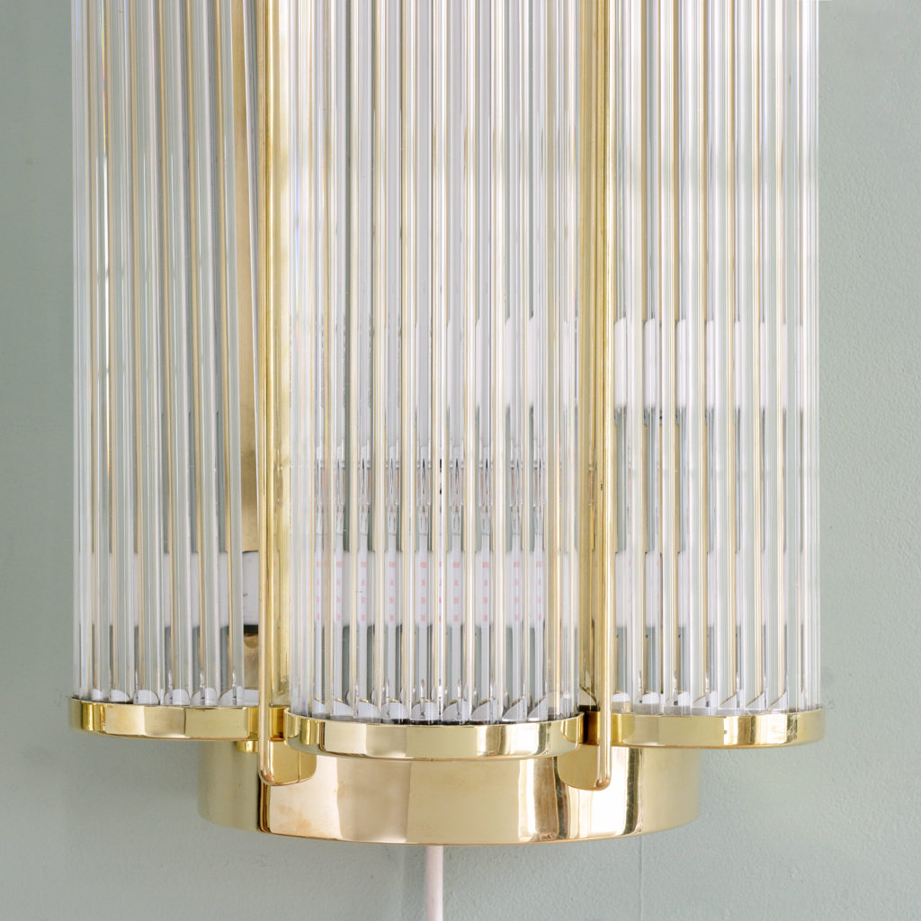 Pair of Art Deco style wall lights,-97168
