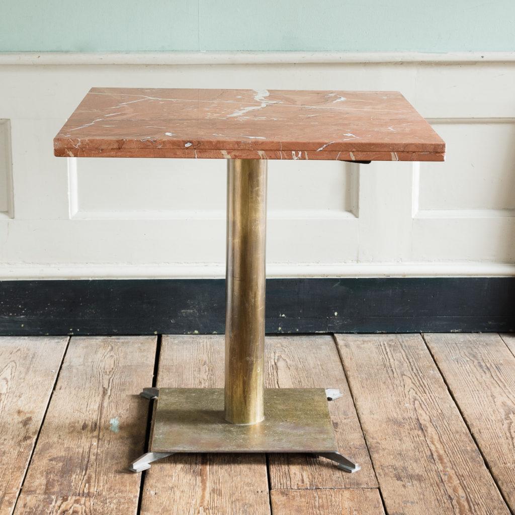 Rojo Alicante marble table,-114515