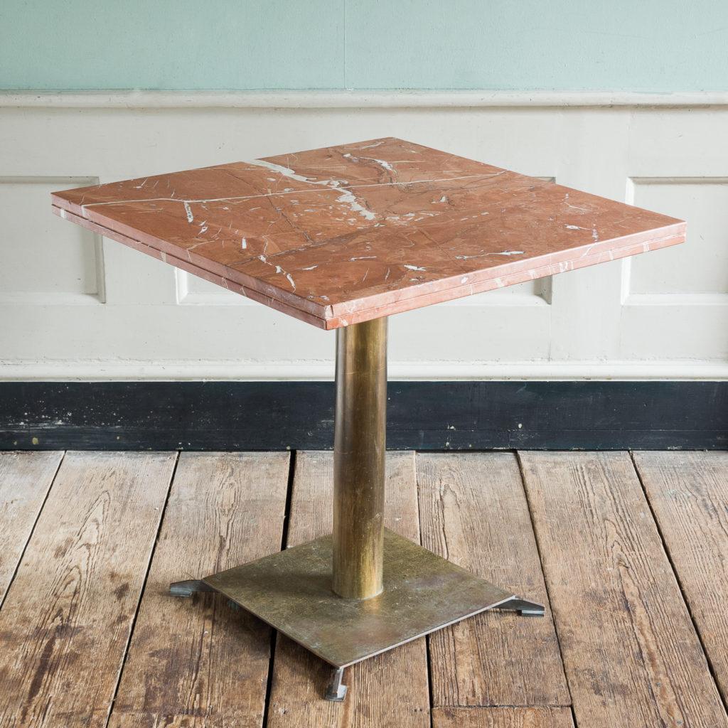 Rojo Alicante marble table,-114513