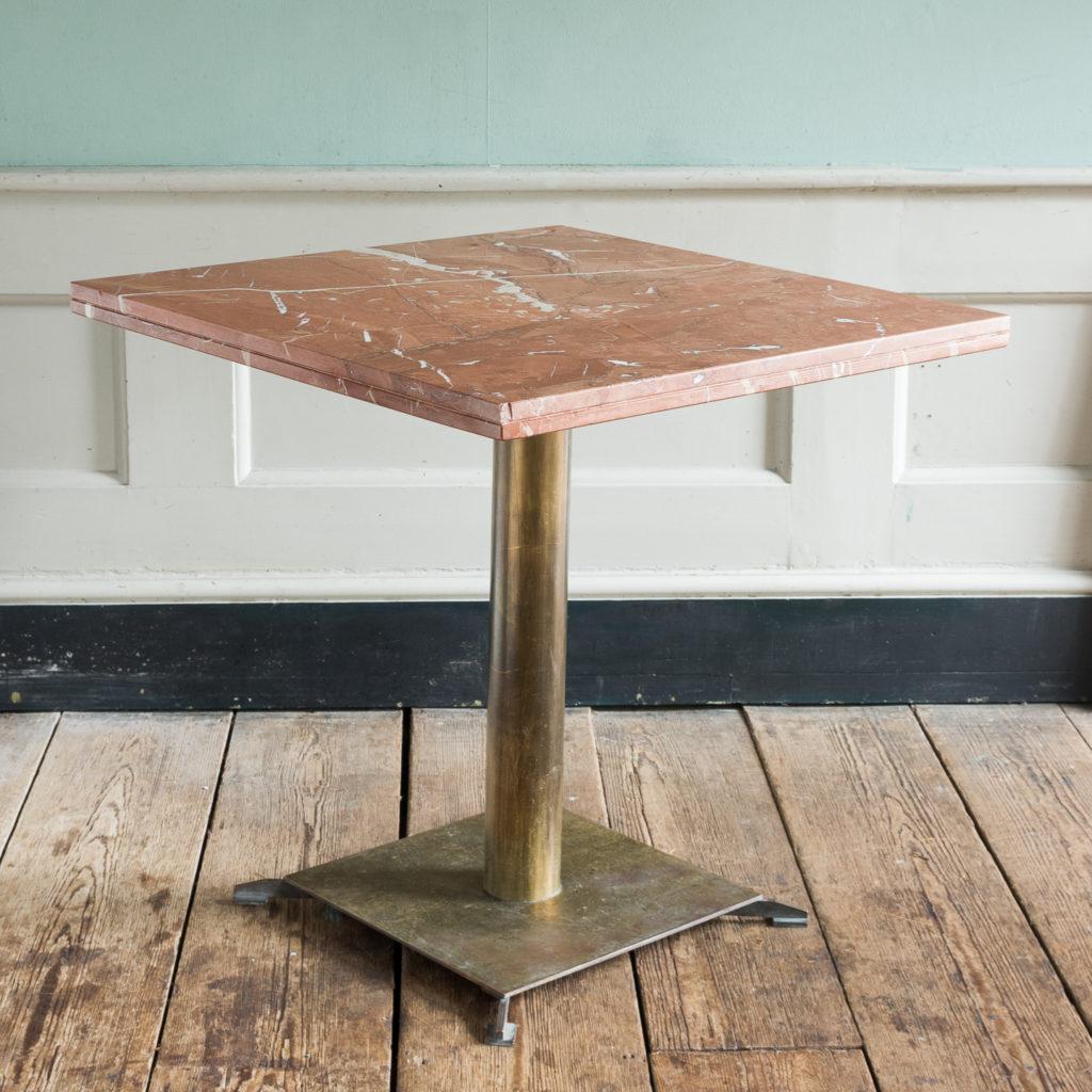 Rojo Alicante marble table,-0