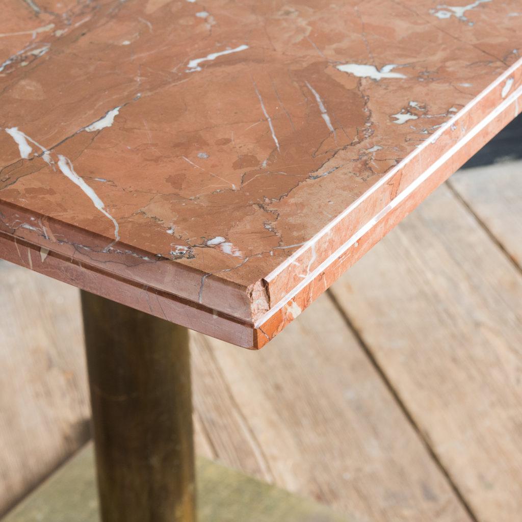 Rojo Alicante marble table,-114517