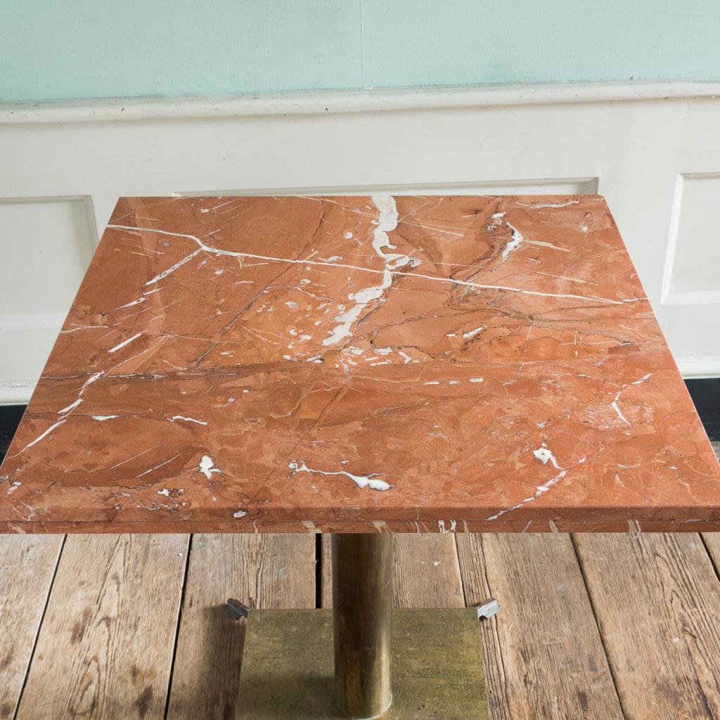 Rojo Alicante marble table,-114509