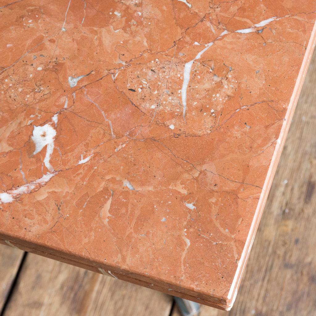 Rojo Alicante marble table,-114511