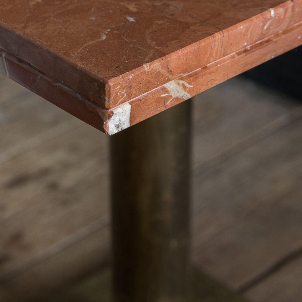 Rojo Alicante marble table,-114512