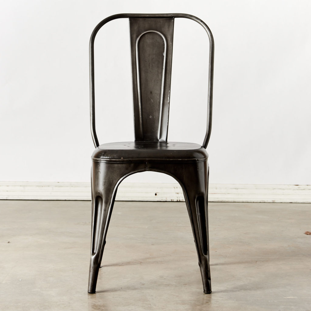Industrial Tolix-style chair-98563