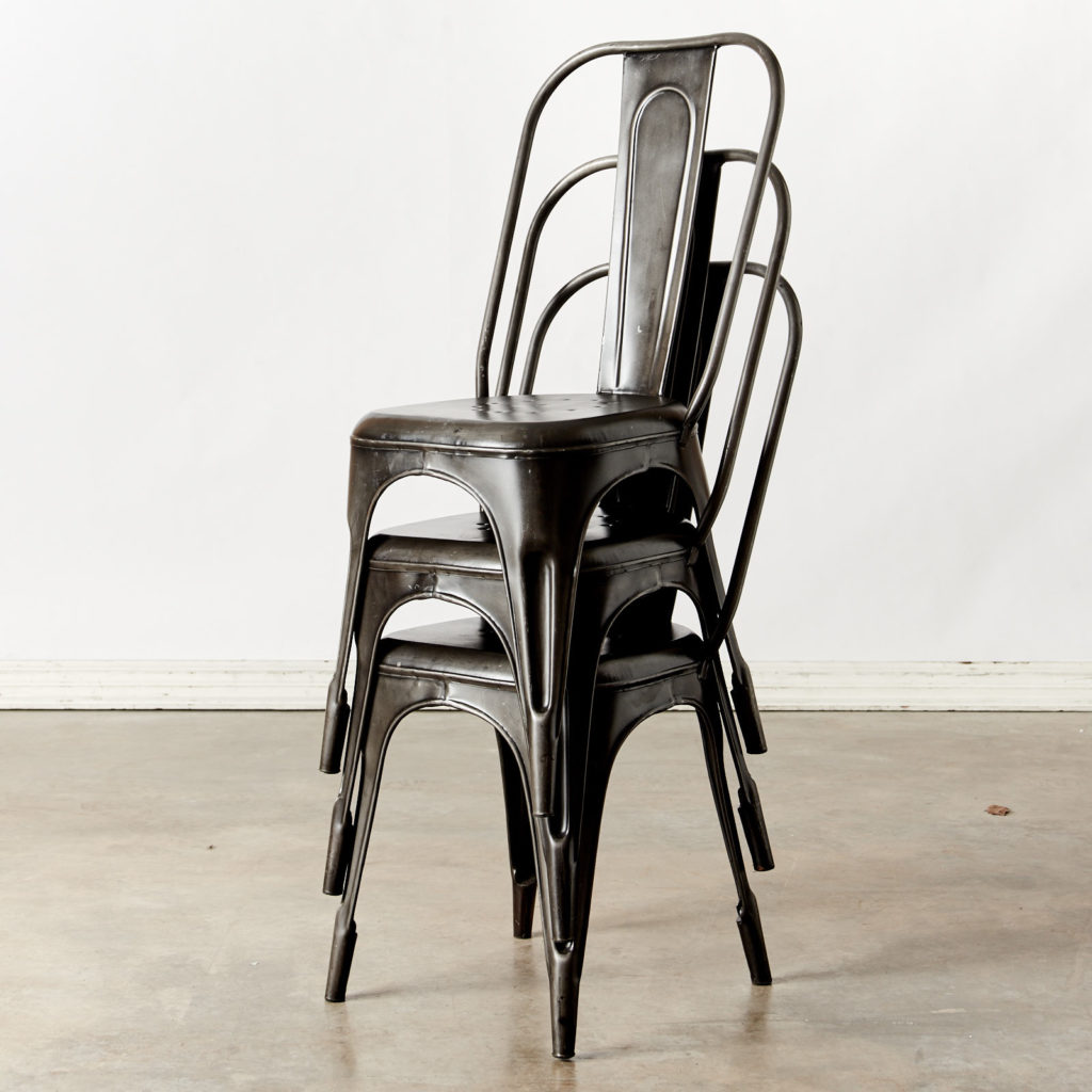 Industrial Tolix-style chair-98567