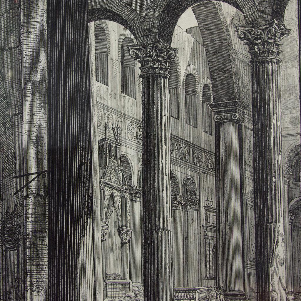 Views of Rome by Luigi Rossini -112675