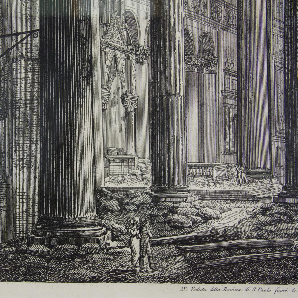 Views of Rome by Luigi Rossini -112676