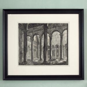 Views of rome by Luigi Rossini