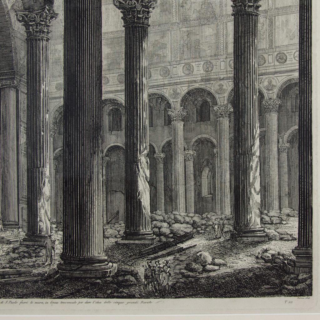 Views of Rome by Luigi Rossini -112672