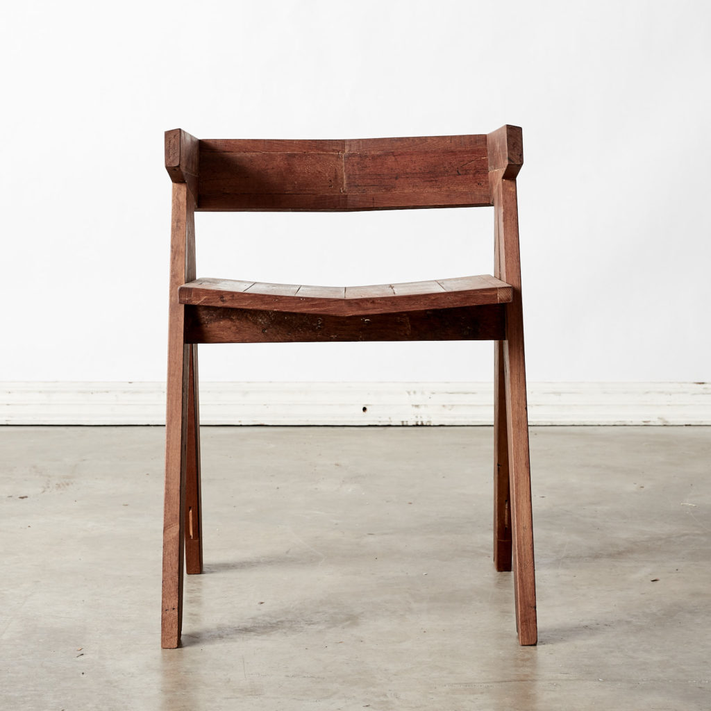 A 'GO' chair with reclaimed Burmese teak, -98758